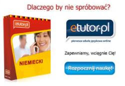 Kurs Języka niemieckiego - eTutor