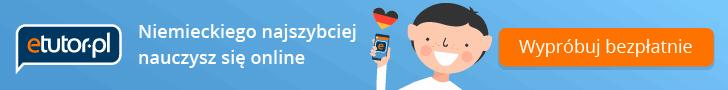 Nauka niemieckiego online na stronie eTutor.pl