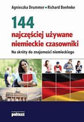 eBook: 144 najczęściej używane niemieckie czasowniki.